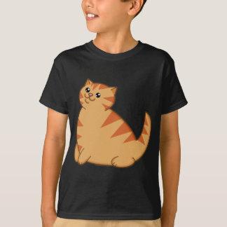 Happy Fat Orange Cat T-Shirt