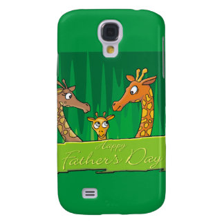 Happy Father s Day Giraffes Samsung Galaxy S4 Covers