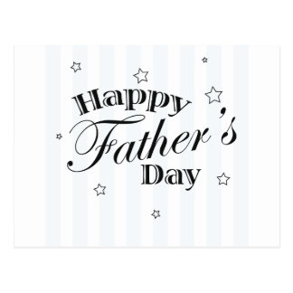 Happy Father s Day Message Post Card