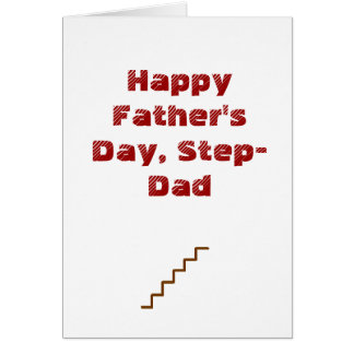Happy Father s Day Step-Dad Card