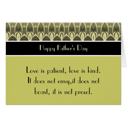 Happy Father's Day 1 Corinthians 13 Love Scripture