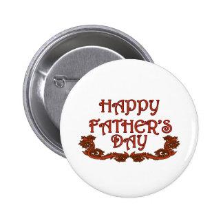 Happy Father's Day 6 Cm Round Badge