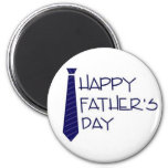 Happy Fathers Day 6 Cm Round Magnet