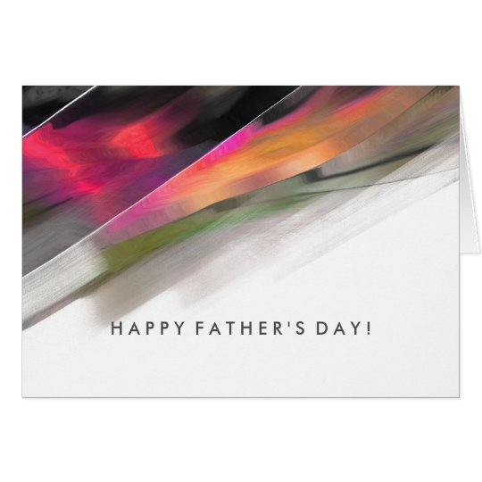 Happy Father's Day. Abstract design Greeting Cards
