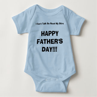 HAPPY FATHER'S DAY!!! BABY BODYSUIT