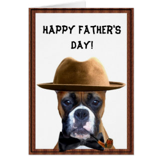 Happy Father's Day Boxer Card