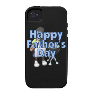 Happy Fathers Day Vibe iPhone 4 Case