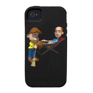 Happy Fathers Day iPhone 4 Case