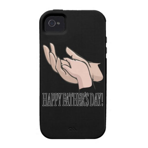 Happy Fathers Day iPhone 4 Cases