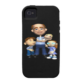 Happy Fathers Day Case-Mate iPhone 4 Covers