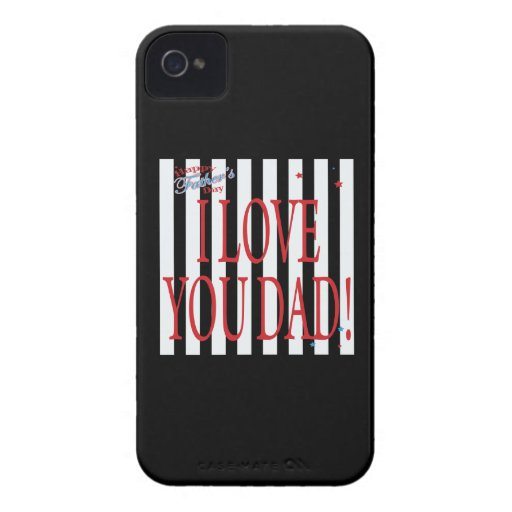Happy Fathers Day Case-Mate iPhone 4 Cases