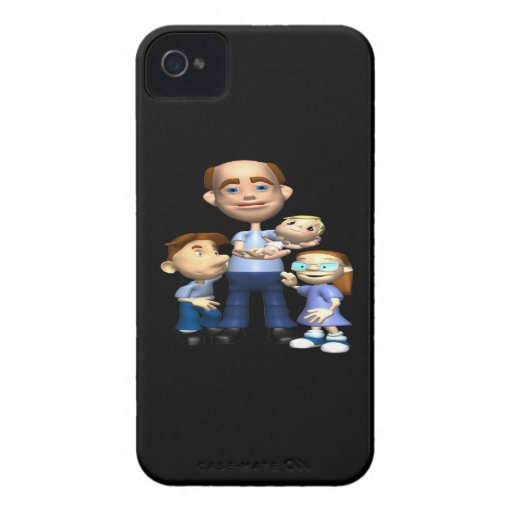 Happy Fathers Day Blackberry Cases