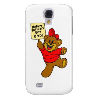Happy Father's Day Dad Boy Bear Galaxy S4 Case