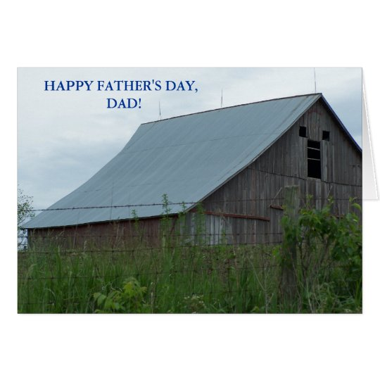 HAPPY FATHER'S DAY, DAD! GOD & COUNTRY CARD