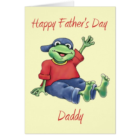 Happy Father's Day Daddy Card (Blank)