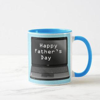 Happy Fathers Day Dads Laptop Mug
