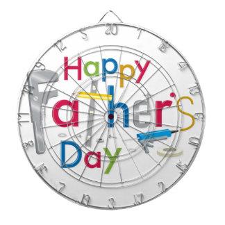 happy father's day dartboard