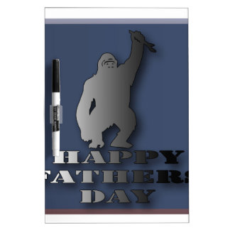 Happy fathers day. dry erase board