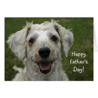 Happy Father's Day from Dog Card