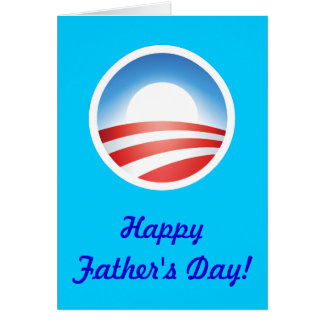 Happy Father's Day from Obama! Greeting Card