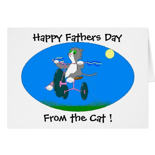 Happy Fathers Day,  From the C... Greeting Card