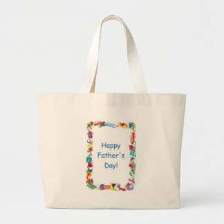 Happy Father's Day Gifts Canvas Bags