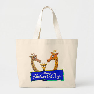 Happy Father's Day Gifts Jumbo Tote Bag