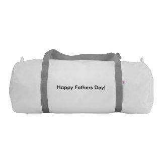 hAPPY FATHERS DAY Gym Duffel Bag