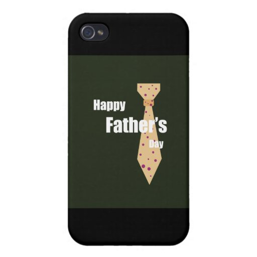 Happy Fathers Day iPhone 4/4S Covers