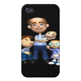 Happy Fathers Day Covers For iPhone 4