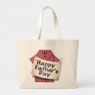 Happy Fathers Day ! Jumbo Tote Bag