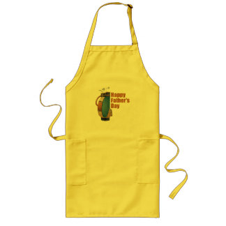 Happy Father's Day Long Apron