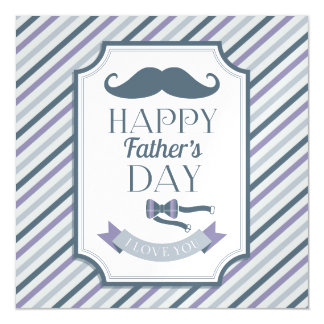 Happy Father's Day Magnetic Invitations