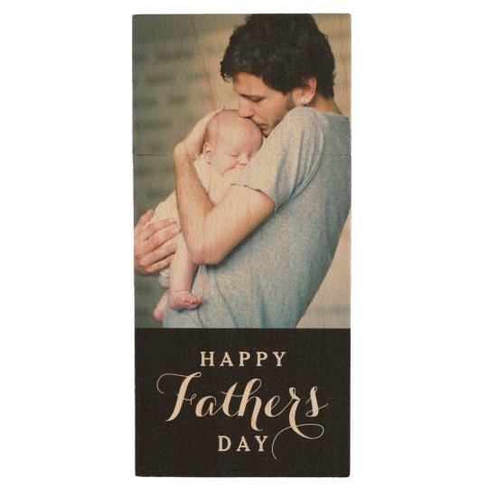 Happy Father's Day Photo USB Flash Drive