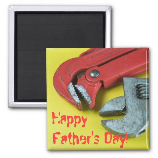 Happy Father's Day! Refrigerator Magnets