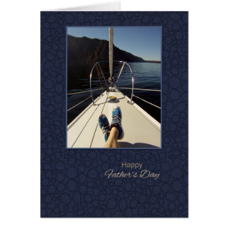 Happy Father's Day Sailing Card