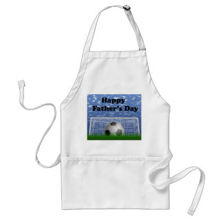 Happy Fathers Day Soccer Standard Apron