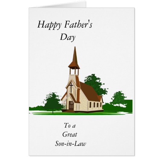 "Happy Father's Day ""Son-in-Law"" Card"