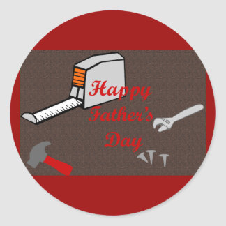 Happy Fathers Day stickers