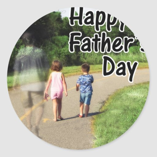 Happy Father's Day to Dad Away From Home Sticker