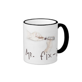 Happy Fathers Day to the Handyman! Ringer Mug
