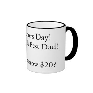 Happy Fathers Day!to the Worlds Best Dad!Oh, Ca... Mugs