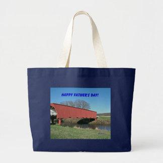 Happy Father's Day! Jumbo Tote Bag