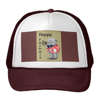 Happy Father's Day Waiter Hats