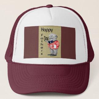 Happy Father's Day Waiter Trucker Hat