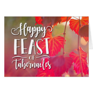 Happy Feast of Tabernacles Card