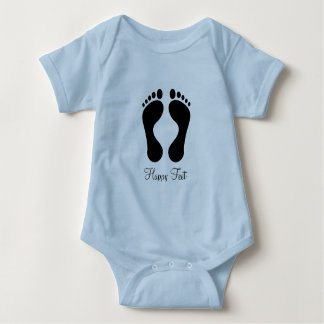 Happy feet baby boy vest baby bodysuit