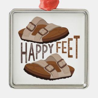 Happy Feet Christmas Ornament
