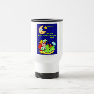 Happy Festival of Sleep Day January 3 Coffee Mugs