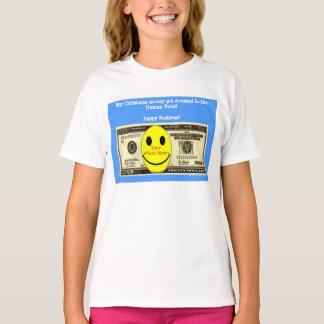 Happy Festivus custom photo Human Fund donation Tshirts